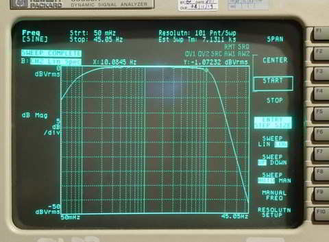 LTZ1000 Band Pass Filter for Noise Measurements