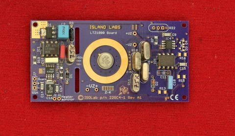 LTZ1000 Board with Sealed Resistors