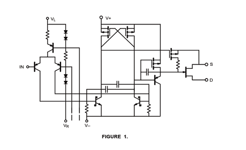 DG188 Schematic Diagram (Typical Channel)