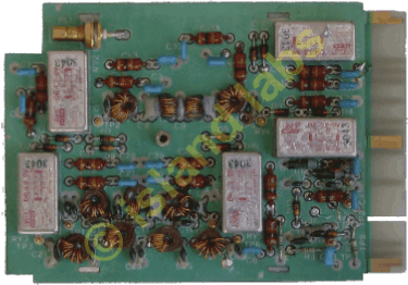 LPF Filters board for PRC677A