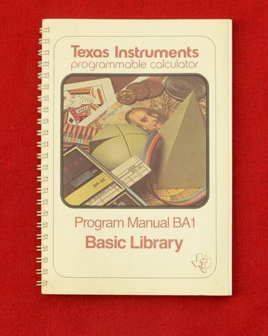 TI 59 Basic library